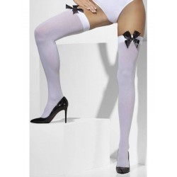 Opaque Hold-Ups, with Black Bows